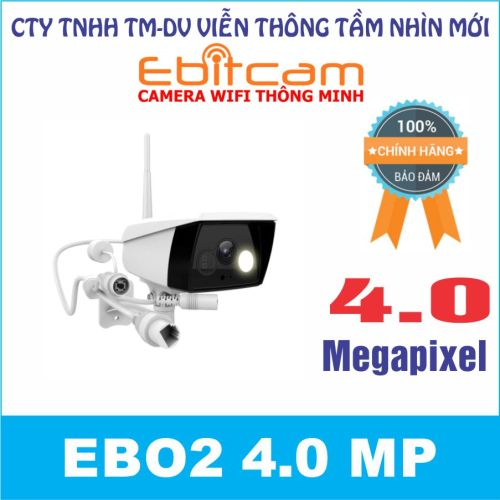 Camera quan sát IP WIFI EBO2 4.0 MP