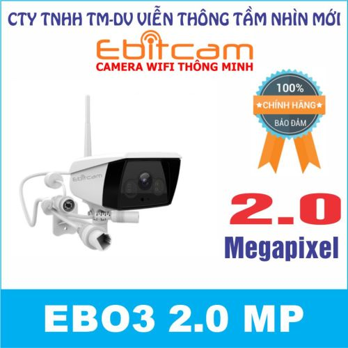 Camera quan sát IP WIFI EBO3 2.0 MP