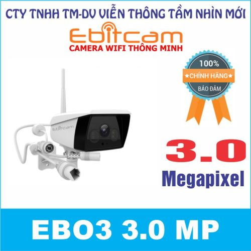 Camera quan sát IP WIFI EBO3 3.0 MP