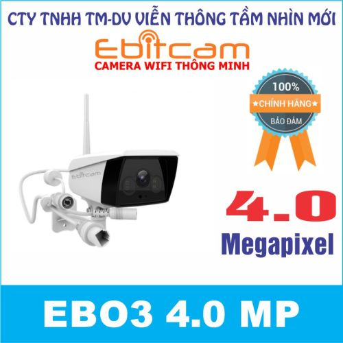 Camera quan sát IP WIFI EBO3 4.0 MP