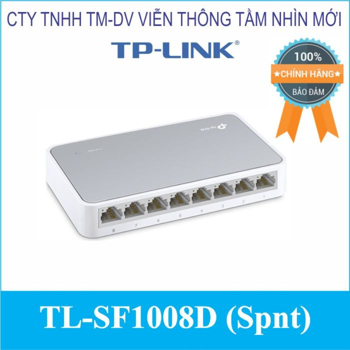 Switch 8 cổng TL-SF1008D (Spnt)