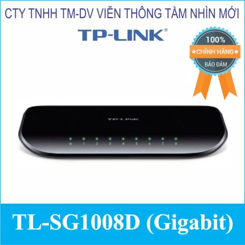 Switch 8 cổng TL-SG1008D (Gigabit)