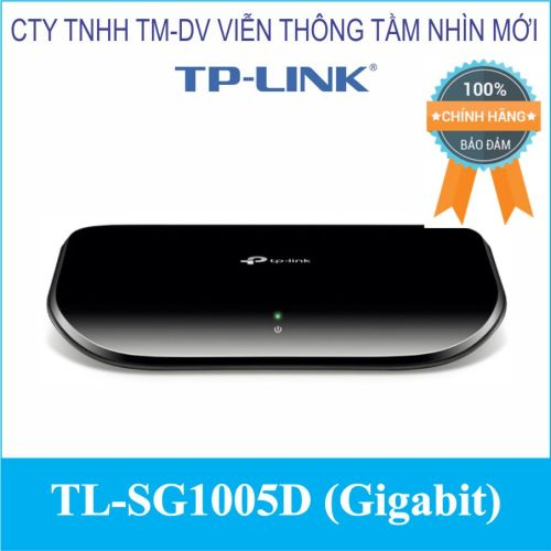Switch 5 cổng TL-SG1005D (Gigabit)